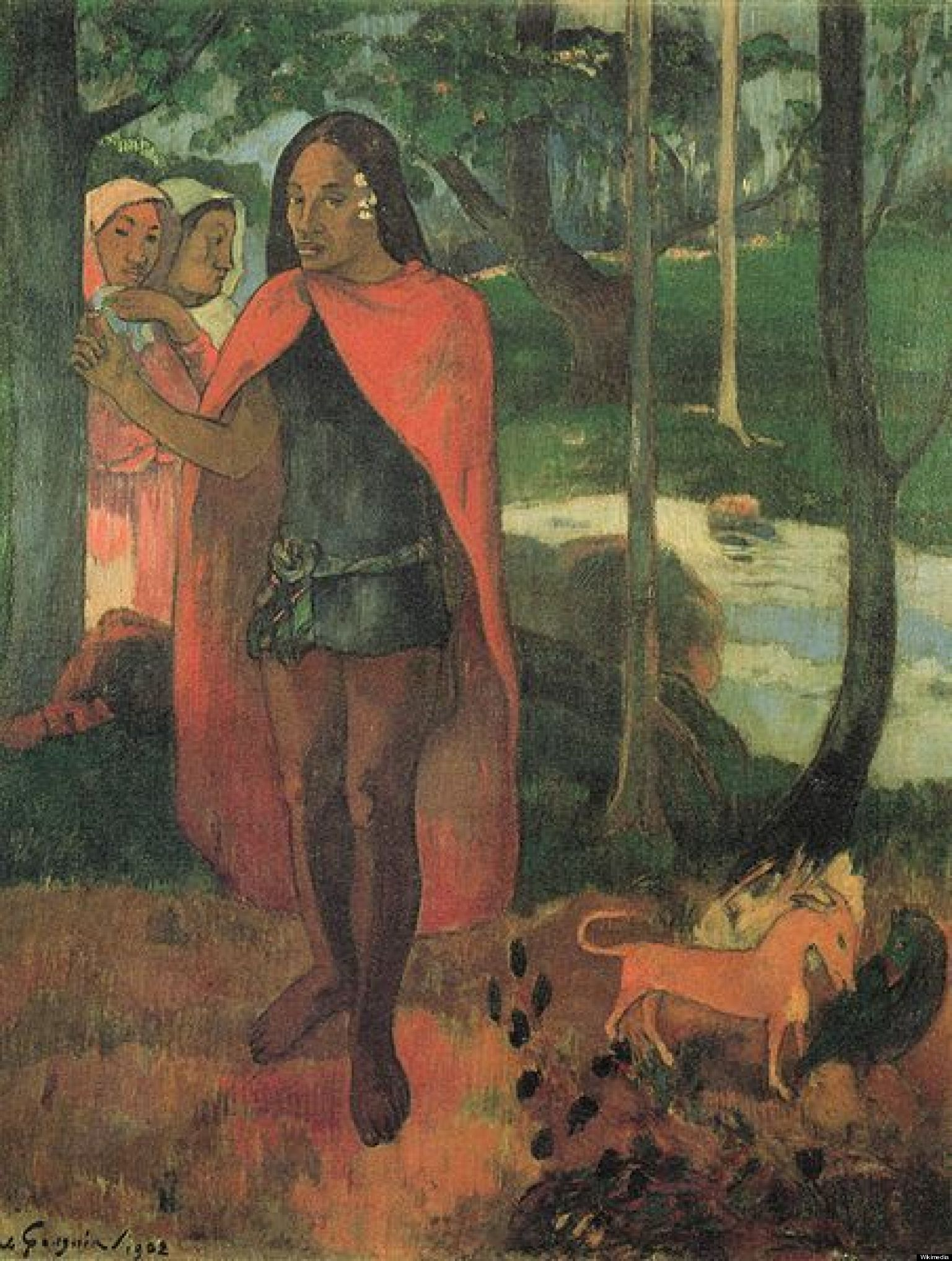 Russell Erxleben Amp Gauguin Painting Come Together In The