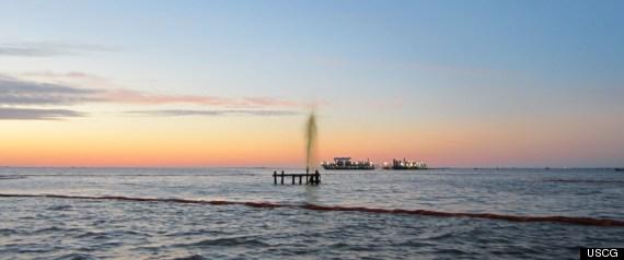 PORT SULPHUR OIL SPILL