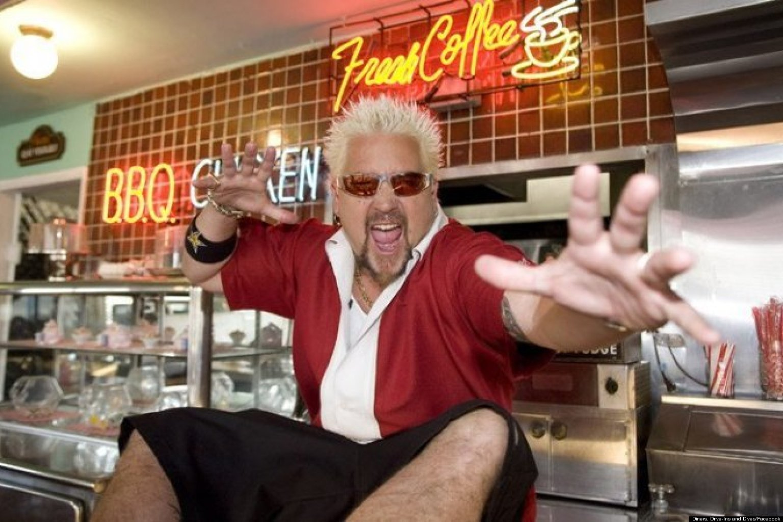 Diners Drive Ins and Dives Toronto Chef Guy Fieri Stops At The Ace Lakevie