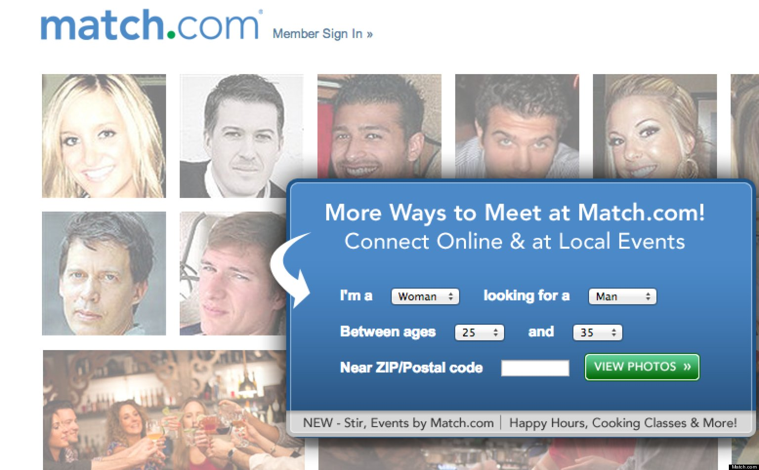 Get noticed online dating