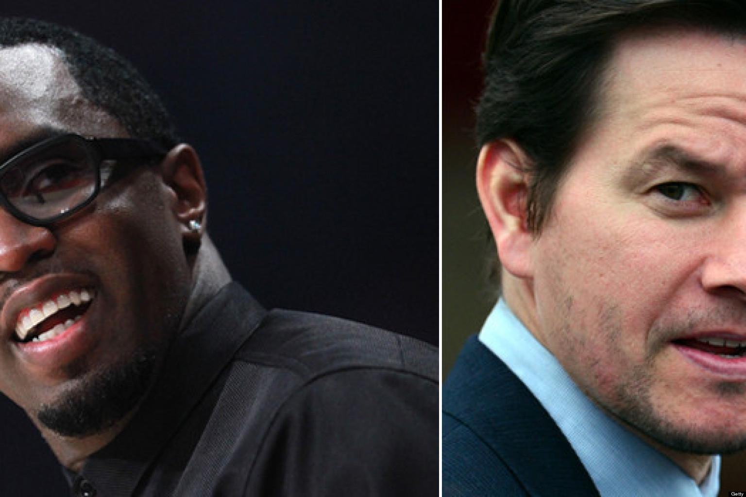 Sean Combs, Mark Wahlberg Water: AQUAhydrate Promises To ... Mark Wahlberg Racist