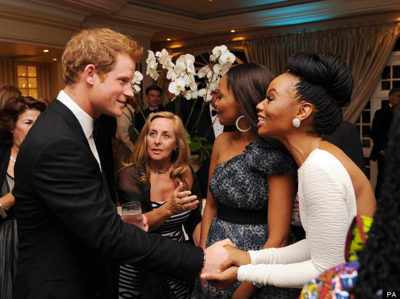 prince harry bonang matheba
