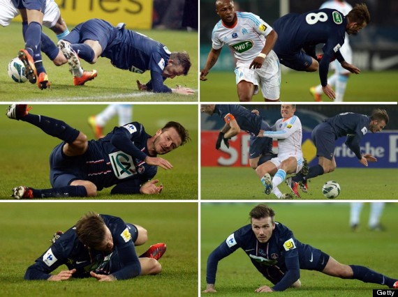 david beckham tackles