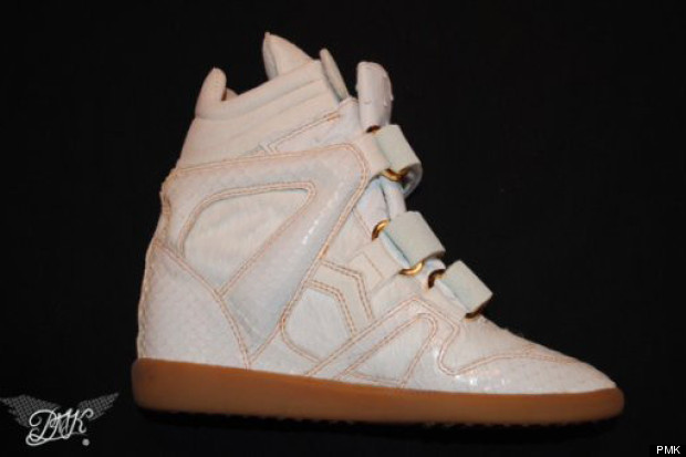 beyonce wedge trainers