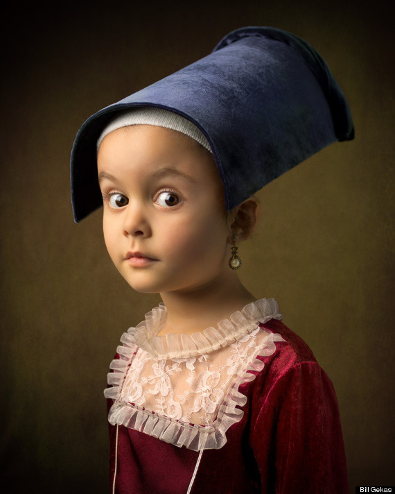 Artist bill gekas and his adorable 5-year-old daughter, can help