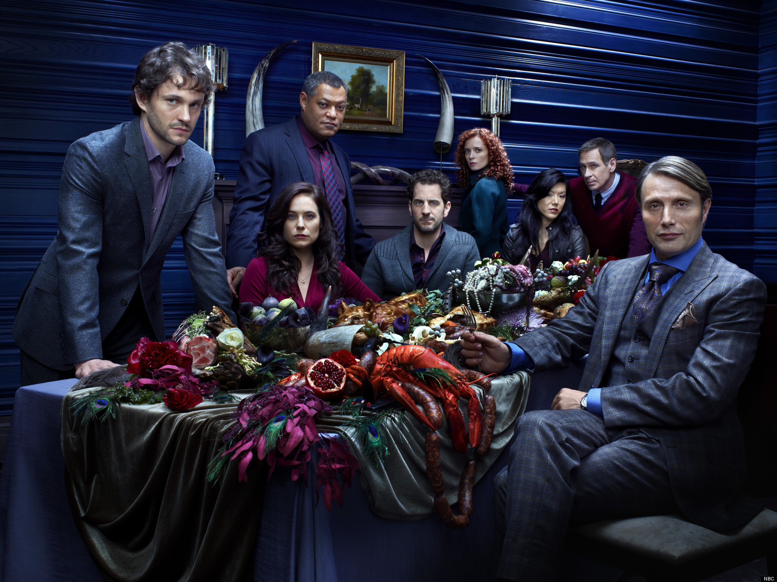 39 hannibal 39 cast hugh dancy laurence fishburne and more in exclusive gallery images photos - Hannibal tv series actors ...