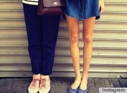 brecha muslos thigh gap moda mortal adolescentes
