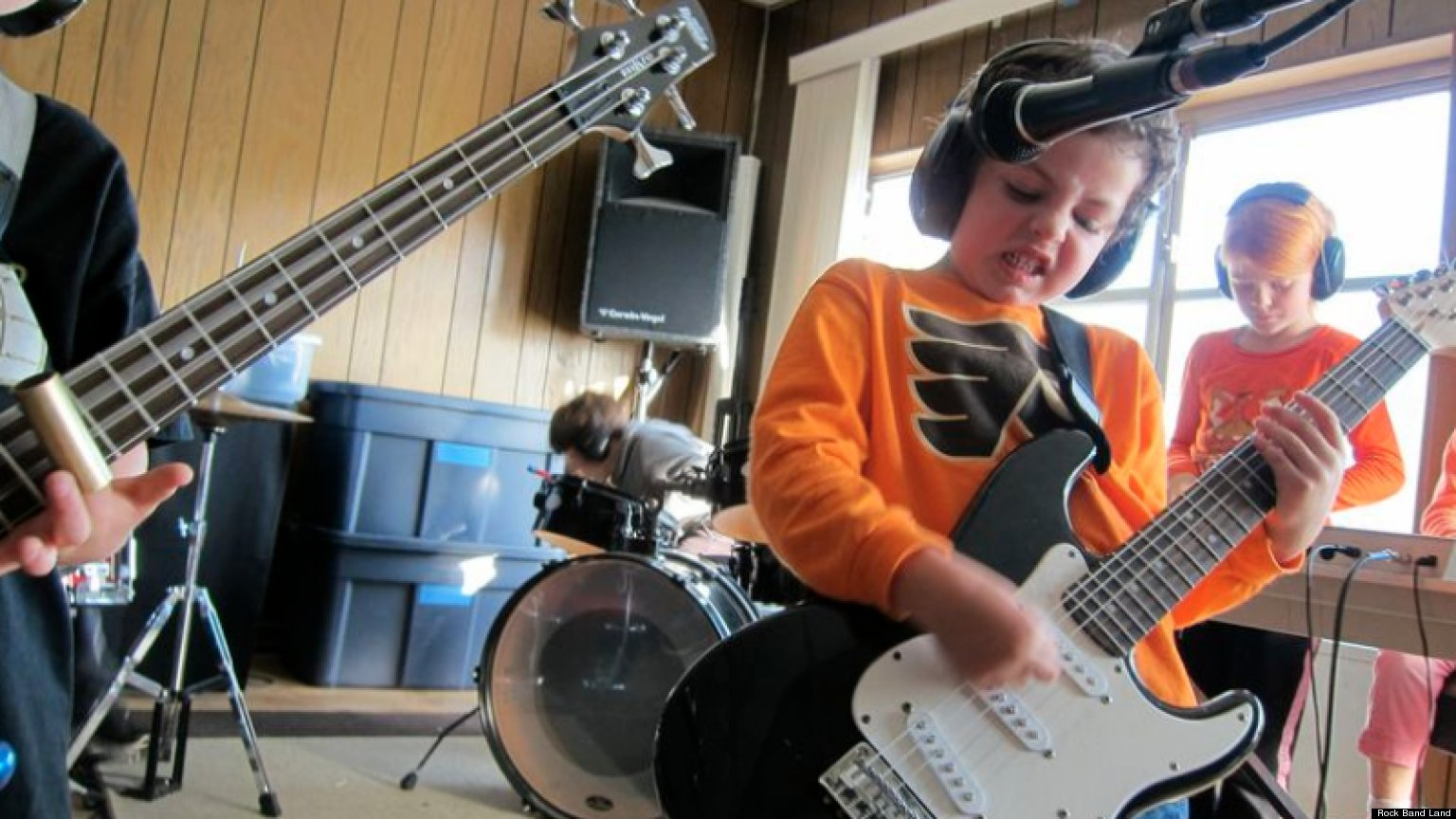 Rock Band Land Teaches Kids Creativity, Collaboration And ...