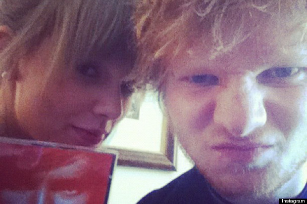 taylor swift and ed sheeran