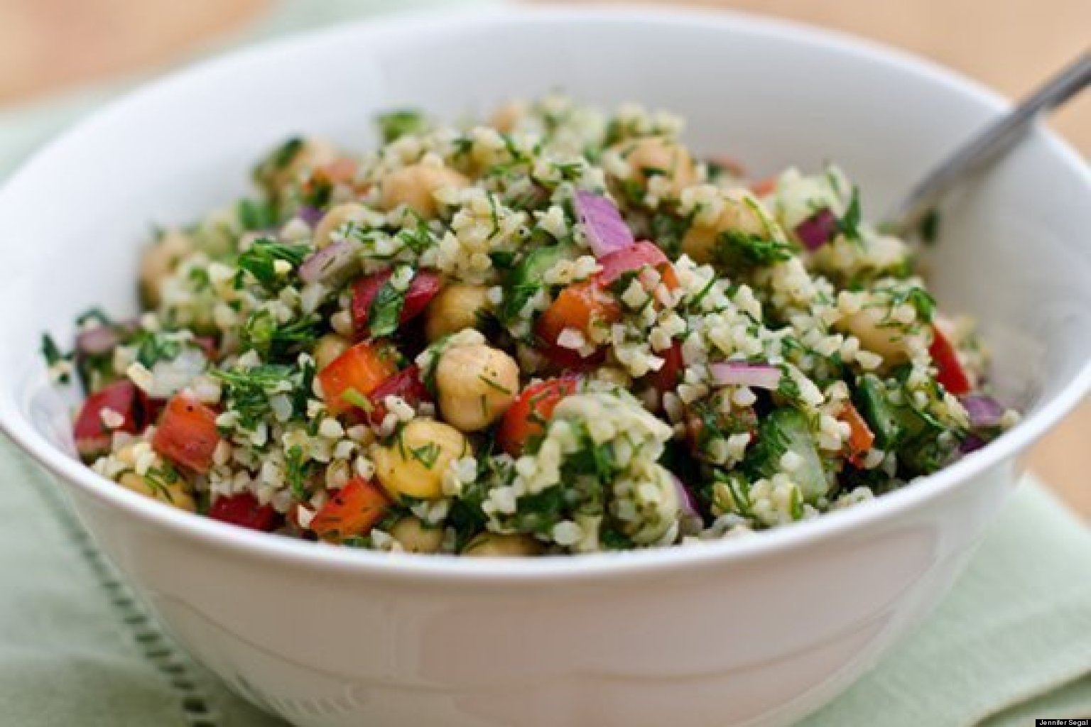 7 healthy lunch salads to take to work jennifer segal for Salas lunchs