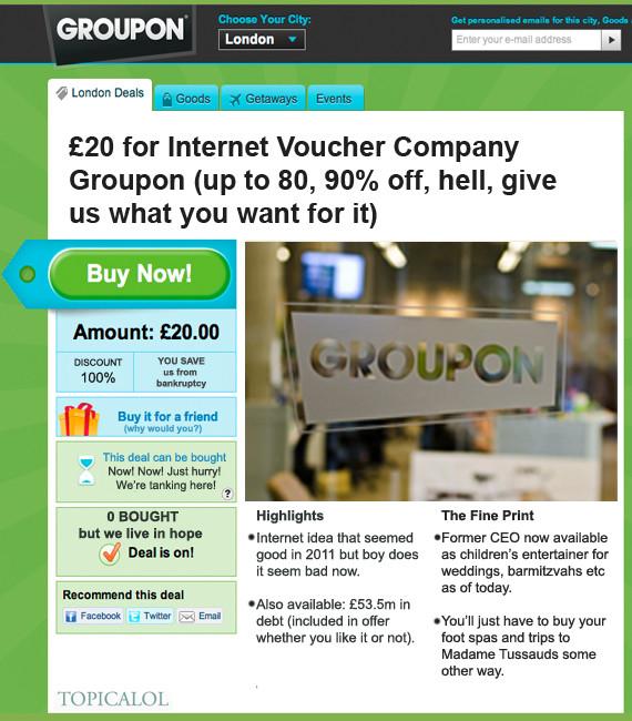 groupon spoof