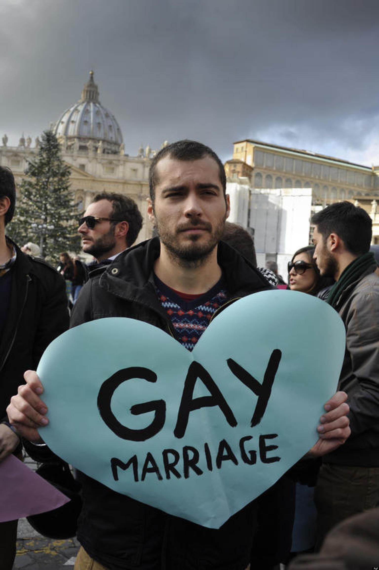 gay nientestronzate nozze