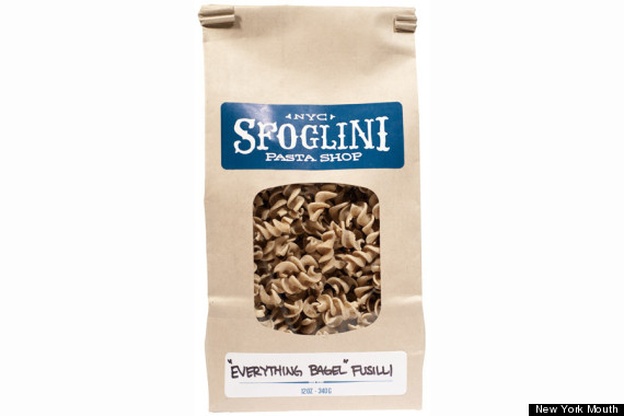 everything bagel pasta