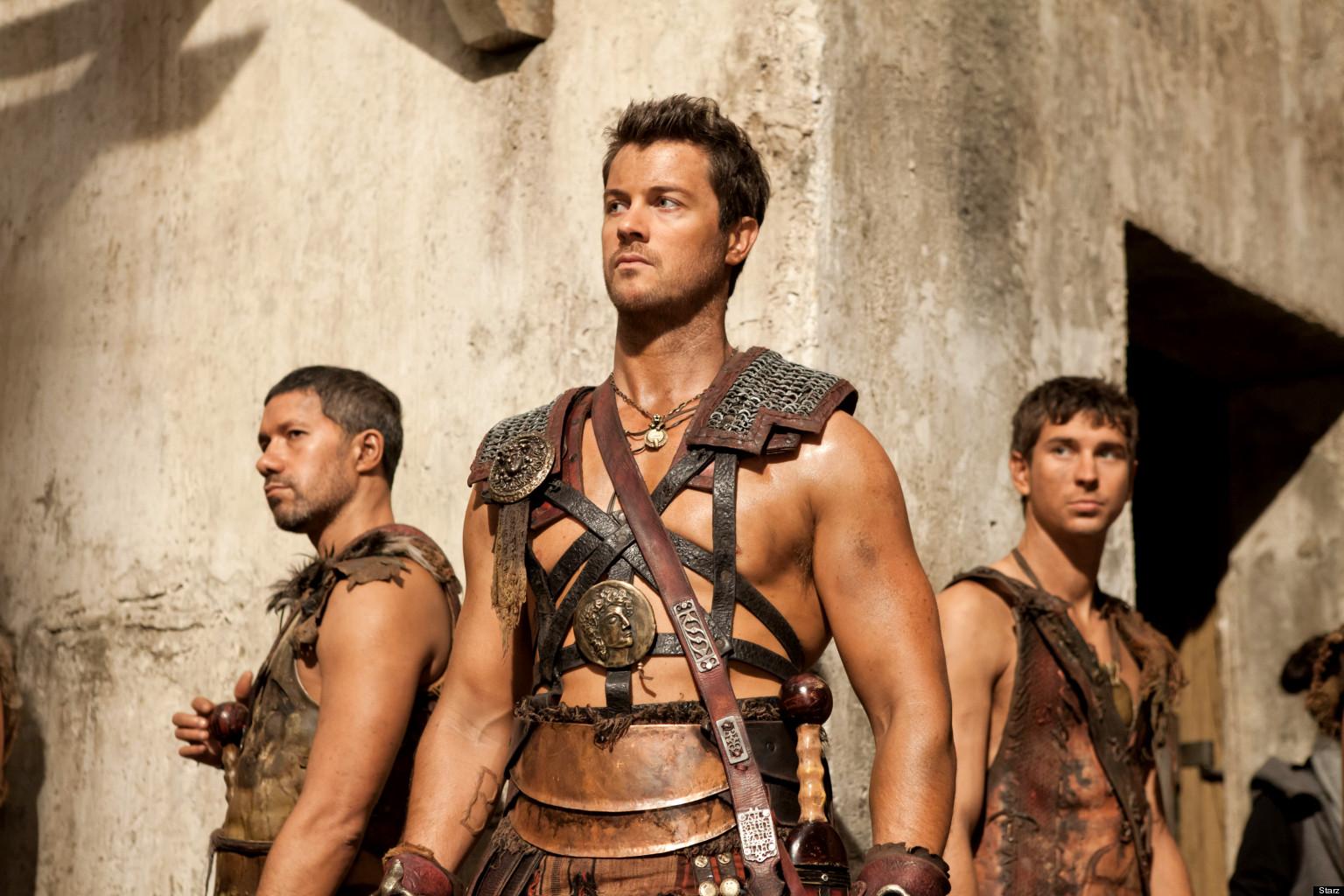Spartacus los mejores 4 de su elenco