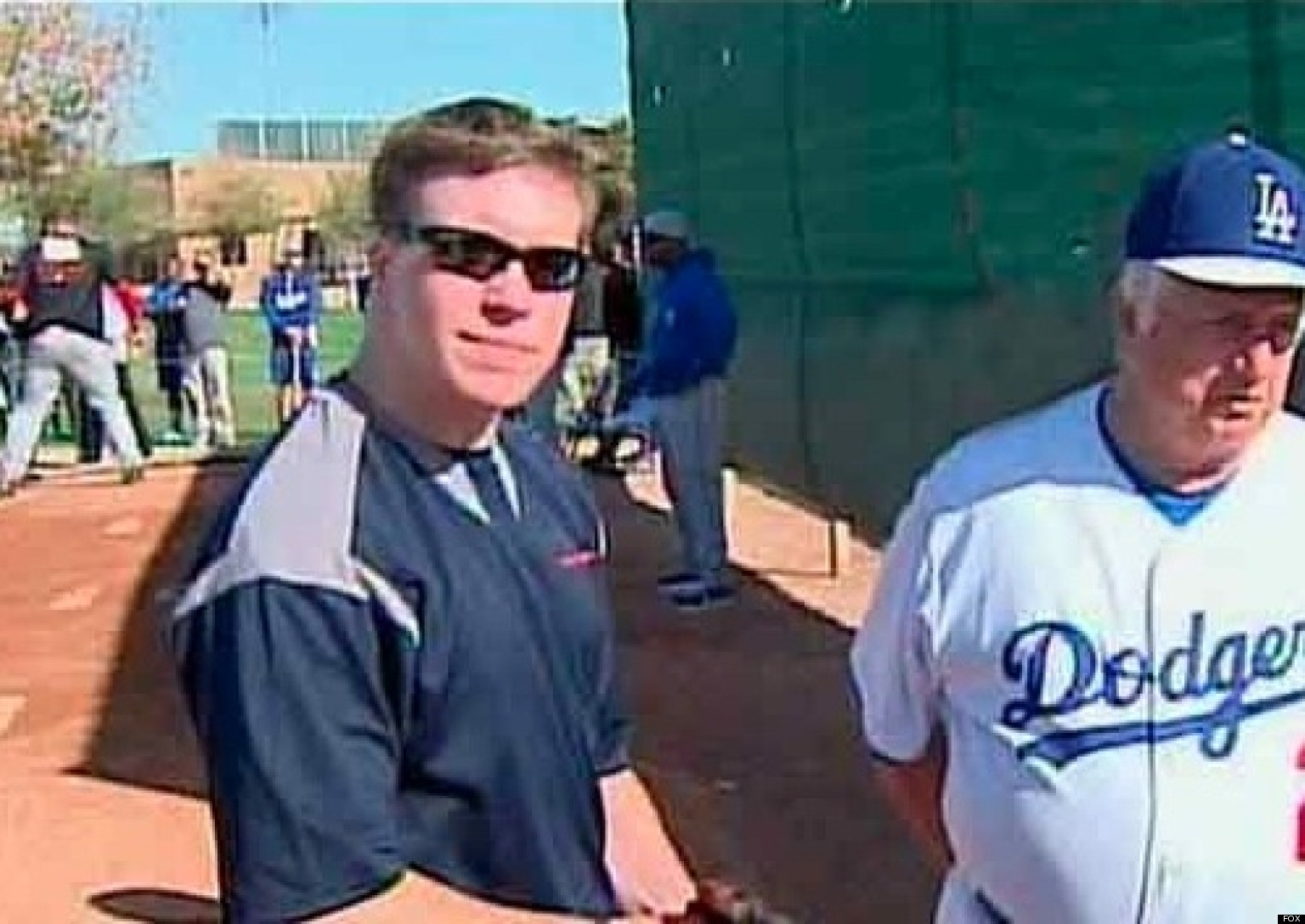 AMAZING: Vet Who Lost His Leg Tries Out For The Dodgers