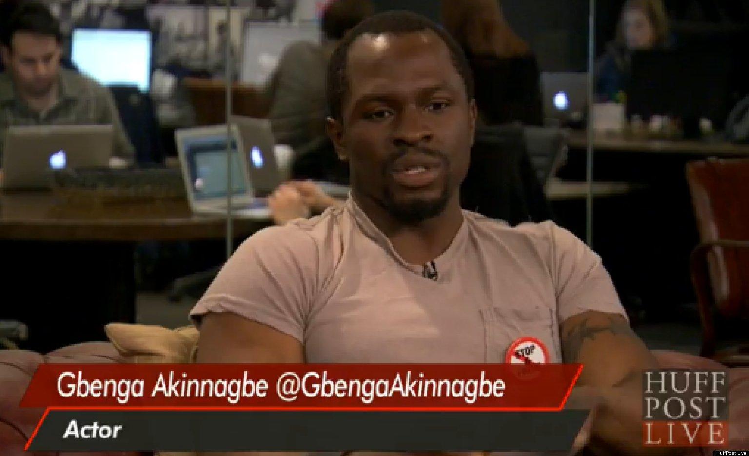 gbenga akinnagbe movies and tv shows
