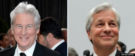 Richard Gere Jamie Dimon