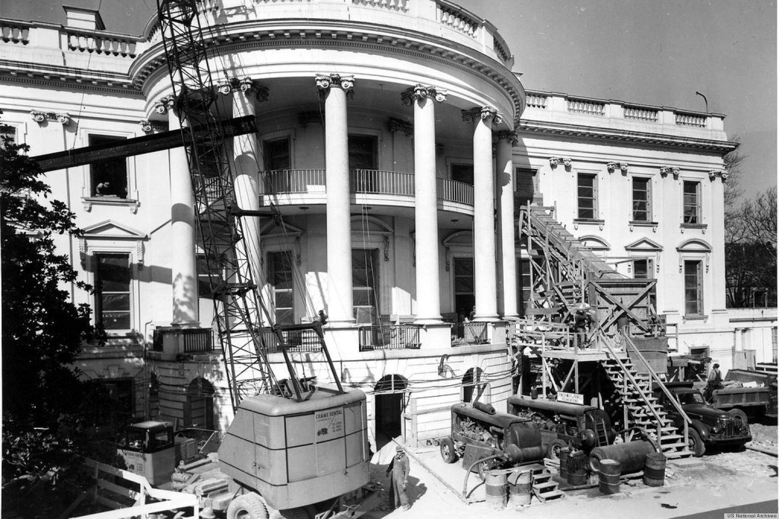 Rare Look Inside President Truman 39 S White House