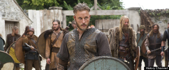 Vikings On History Travis Fimmel