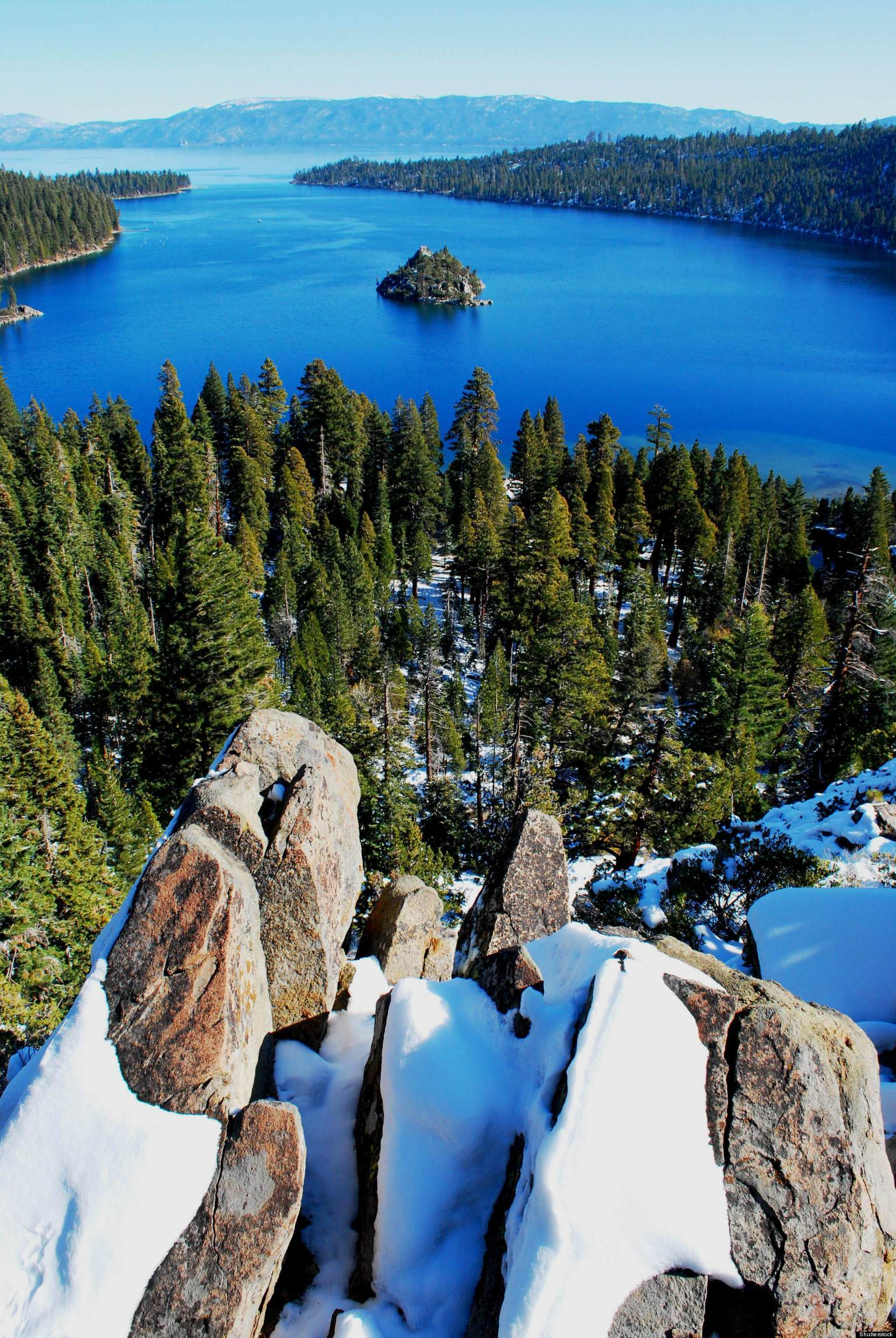 Lake Tahoe California Galaxy Note 3 Wallpapers Hd 1080x1920: In Lake Tahoe, Spring Snow Gives Way To Summer Adventure