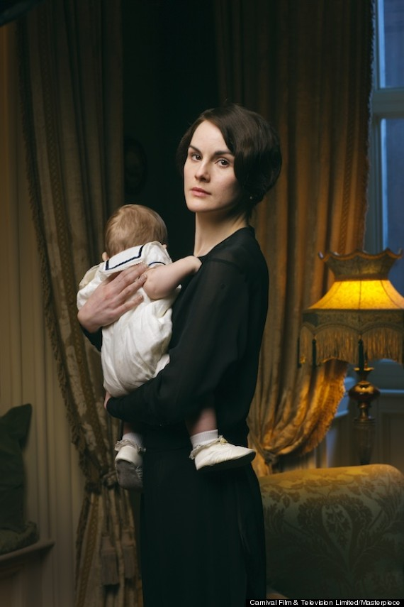 Downton Abbey': Lady Mary In First Season 4 Official Photo