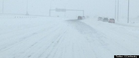 Alberta Snow Highway Closures