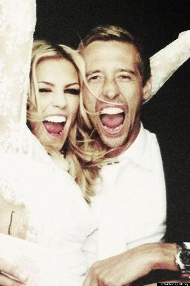 abbey clancy wedding pictures