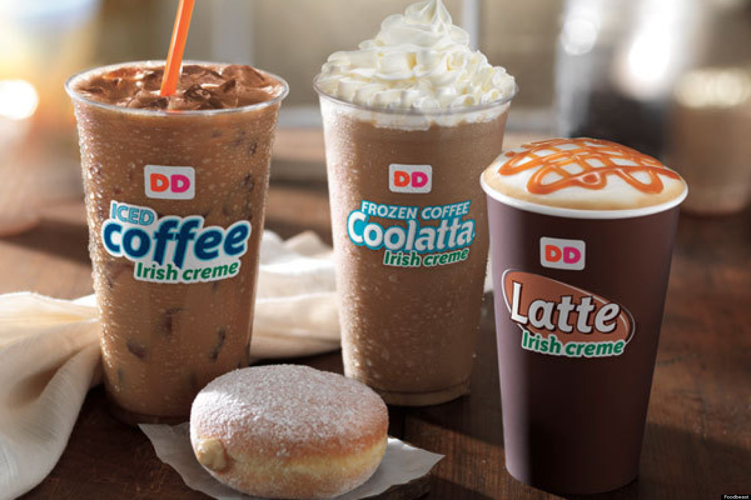 This is what the new Dunkin' Donuts stores will look like