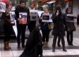 Iranian Topless Protest Video: Activists In Sweden Against Hijabs And Iran Strip In Public (NSFW)