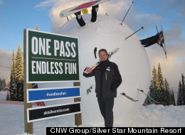 LOOK: Is This The World's Largest Snowball?