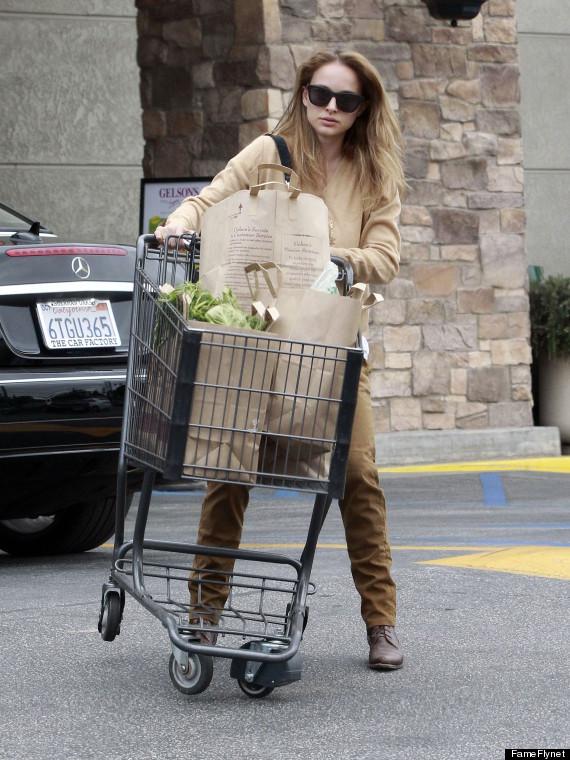 natalie portman shopping