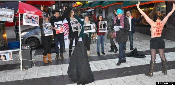 femen protest stockholm