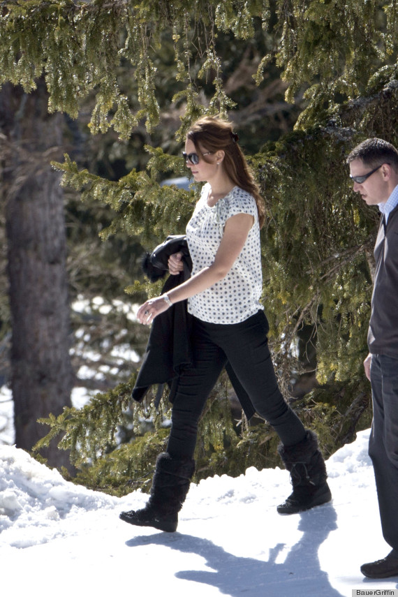 kate middleton swiss alps