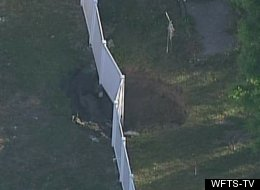 WATCH: Second Sinkhole Forms In Seffner, Fla.,