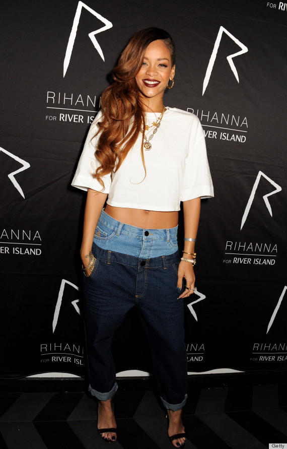 rihanna jeans
