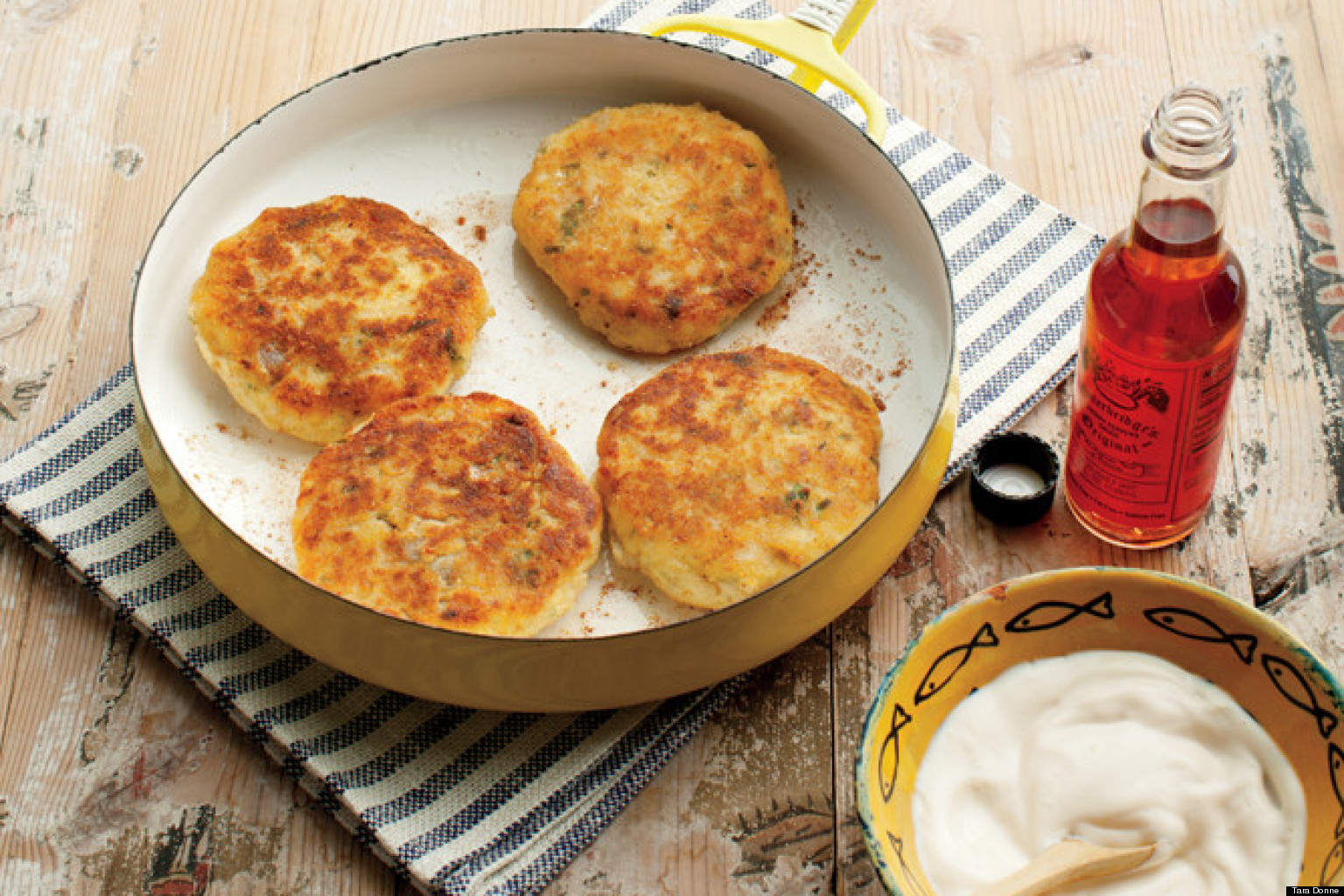 Recipe of the day fish cakes huffpost for How to make fish patties
