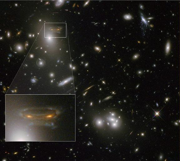 space invader galaxy
