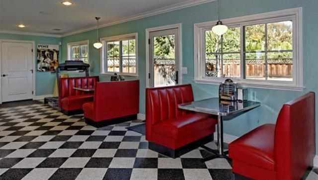 1950s Homes 7 homes for sale with a 1950s-style diner inside | huffpost