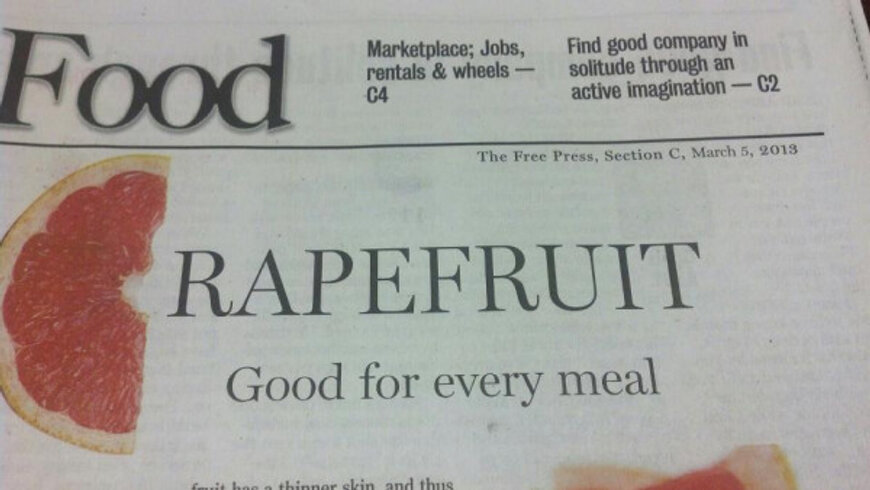 rapefruit headline