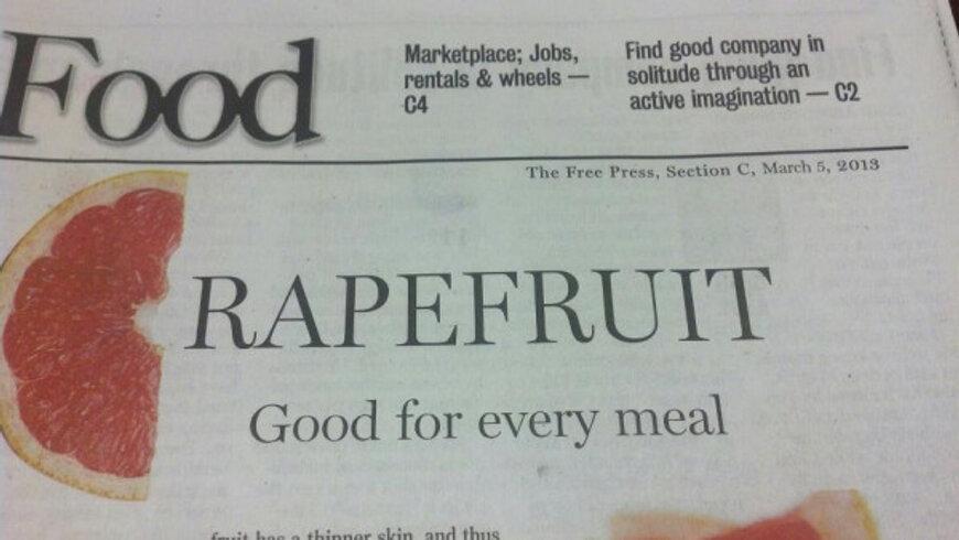 rapefruit headline