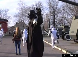 Darth Vader Leads Drug Raid In Ukraine
