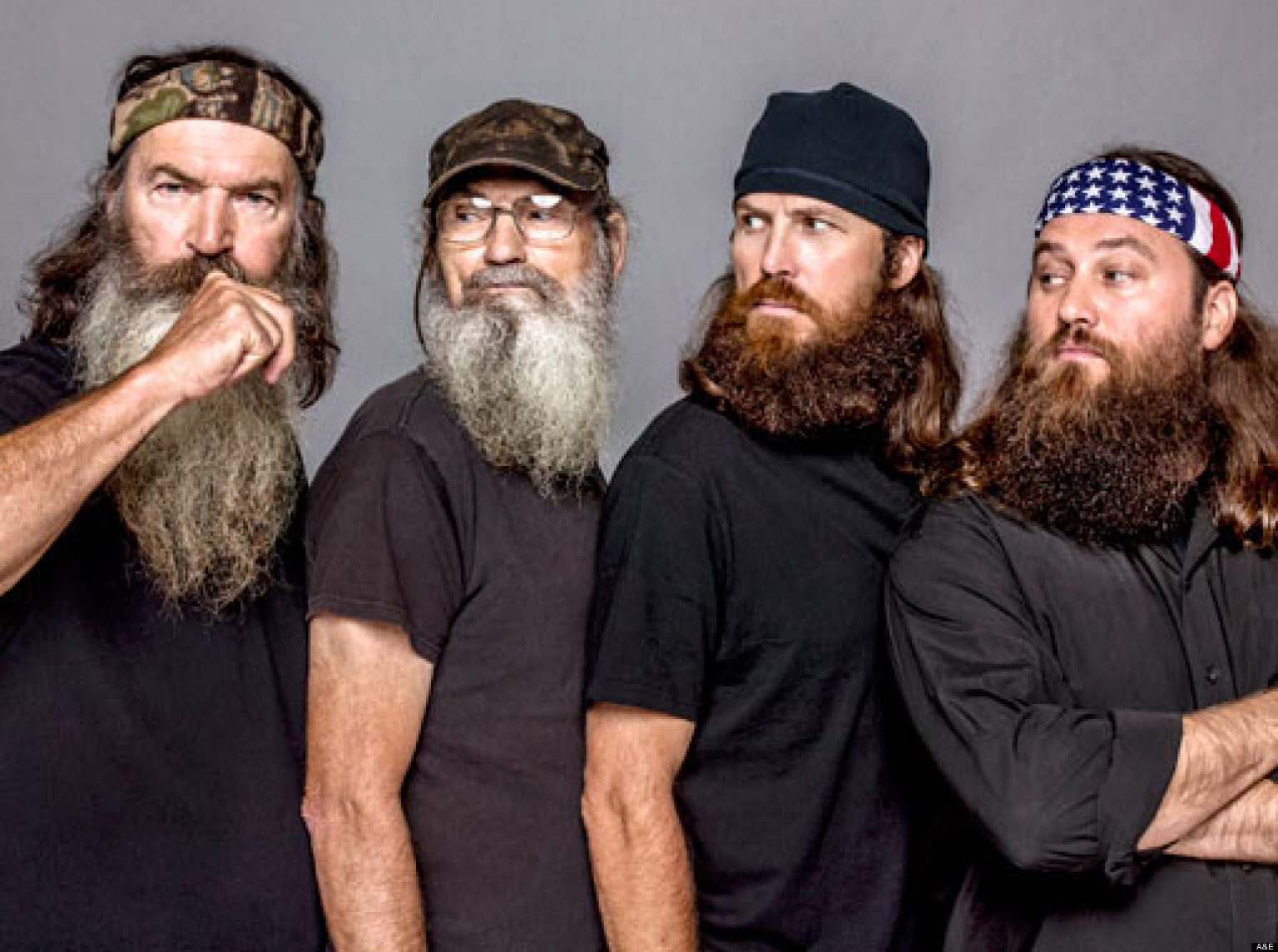 Duck Dynasty' Stars Without Beards: Do You Recognize The Robertson ...