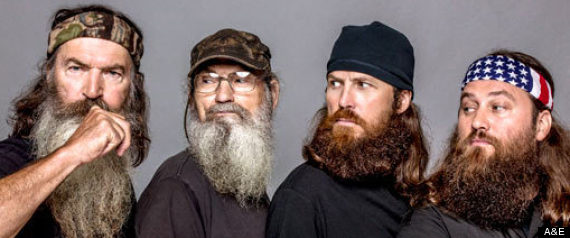 duck dynasty stars without beards