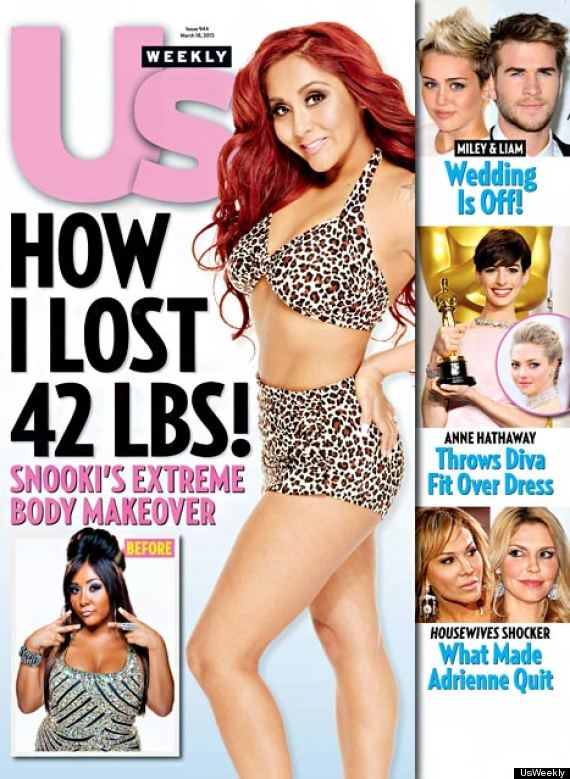 Snooki Post-Baby Body: New Mom Loses 42 Pounds, Poses In ...