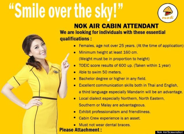 How much should looks matter for female flight attendants for Korean air cabin crew requirements