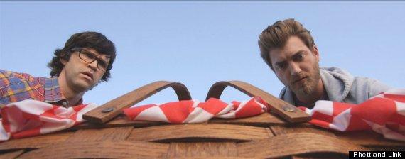 rhett link basket