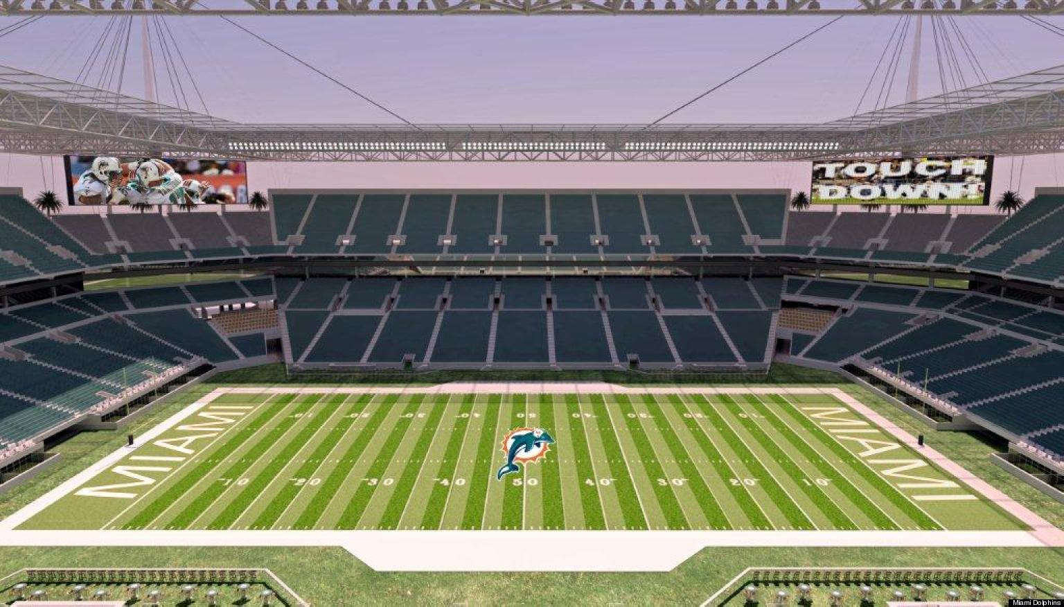 dolphins' super bowl deal: won't use public funds if