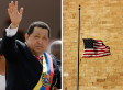 Citgo Flying American Flags At Half-Staff In Honor Of Hugo Chavez (PHOTO)