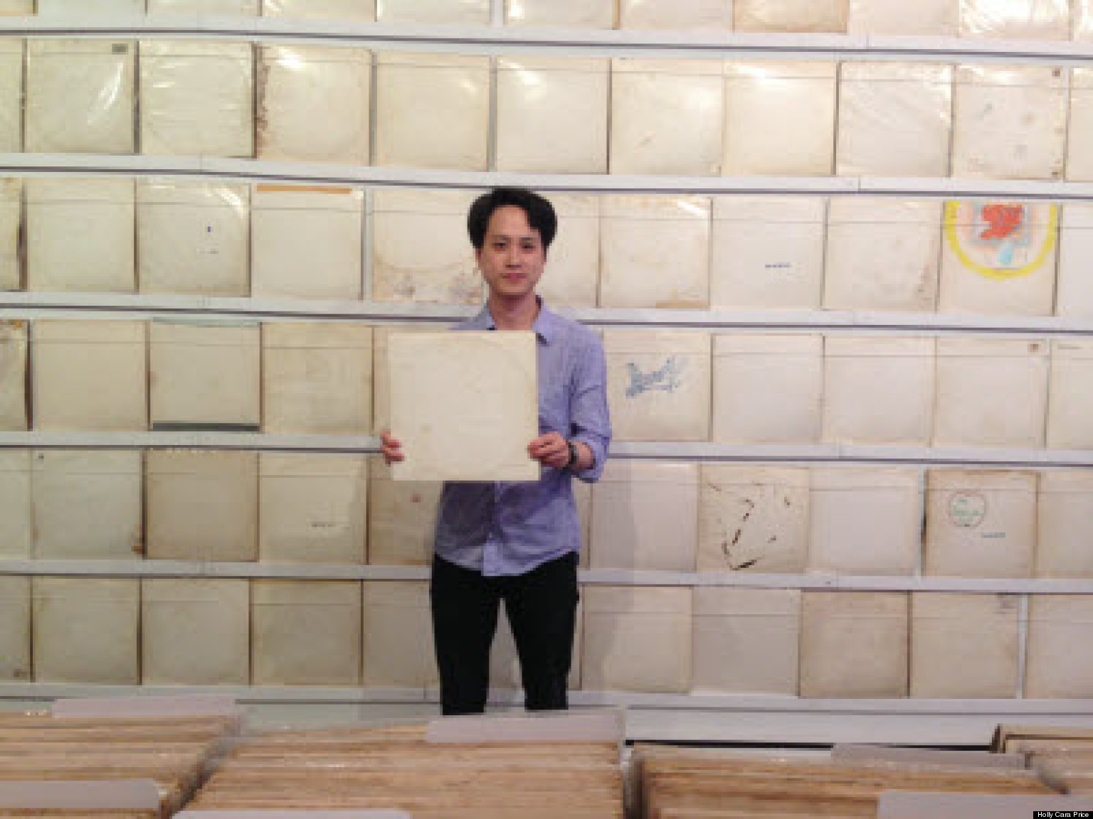 Rutherford Chang Wants Your White Albums Huffpost