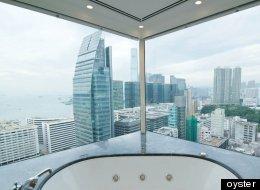10 baños de hoteles con vistas espectaculares (FOTOS)